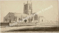 All Saints Church, Northallerton 1825